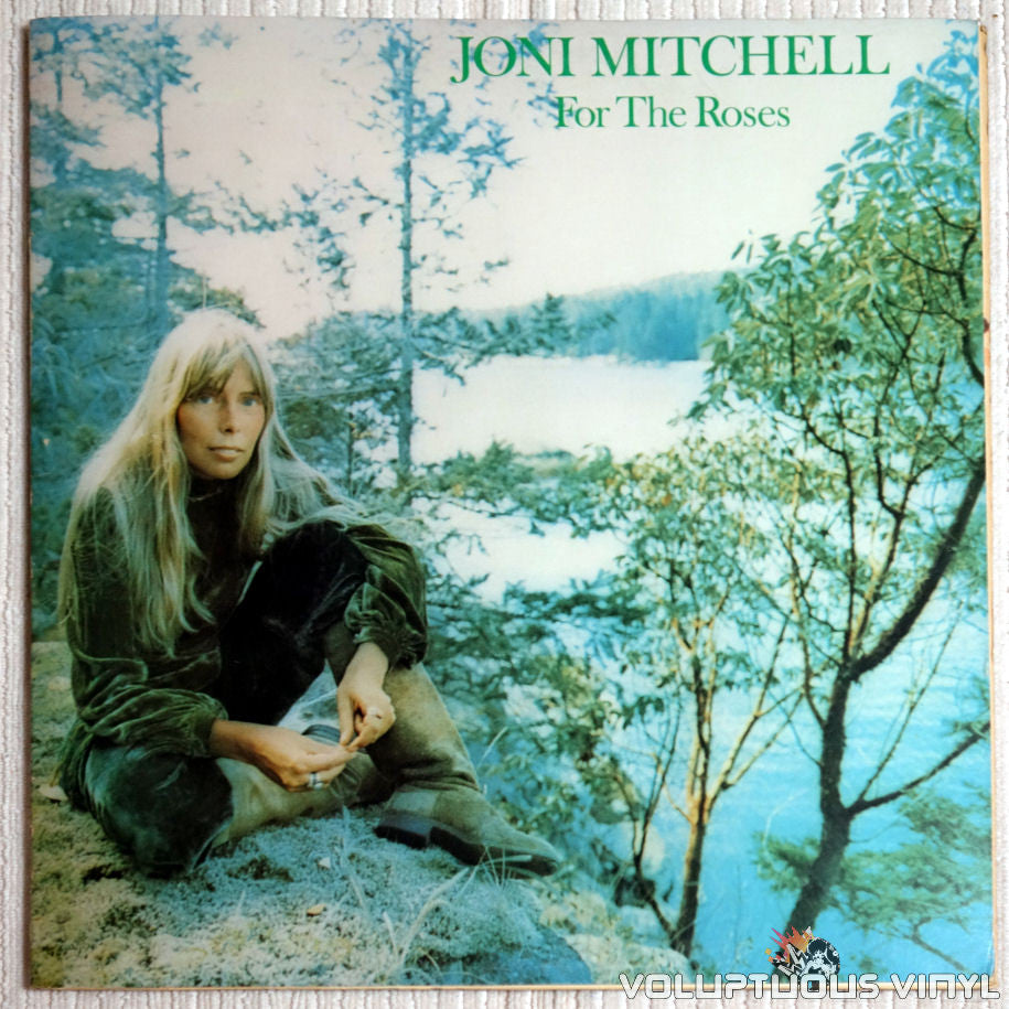 Joni Mitchell ‎– For The Roses - Vinyl Record - Front Cover