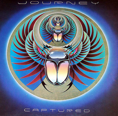 Journey ‎– Captured (1981) Cheap Vinyl Record