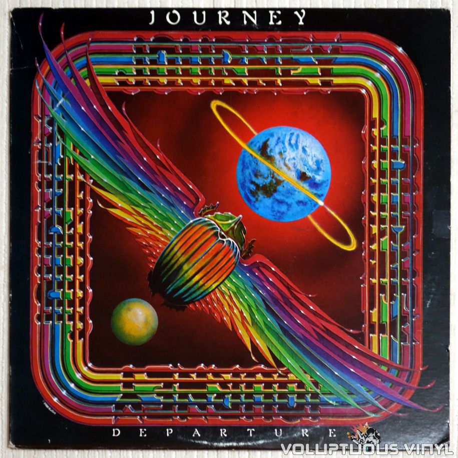 Journey ‎– Departure - Vinyl Record - Front Cover