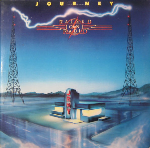 Journey ‎– Raised On Radio (1986) Cheap Vinyl Record