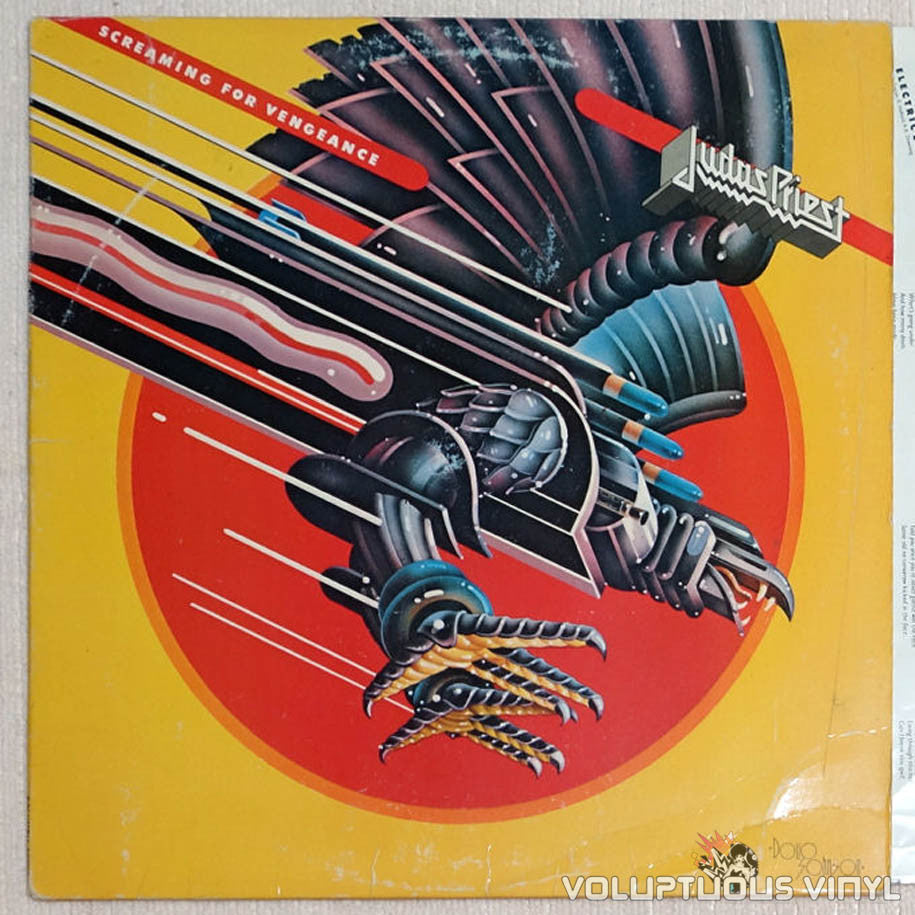 Judas Priest ‎Sad Wings Of Destiny Vinyl Record