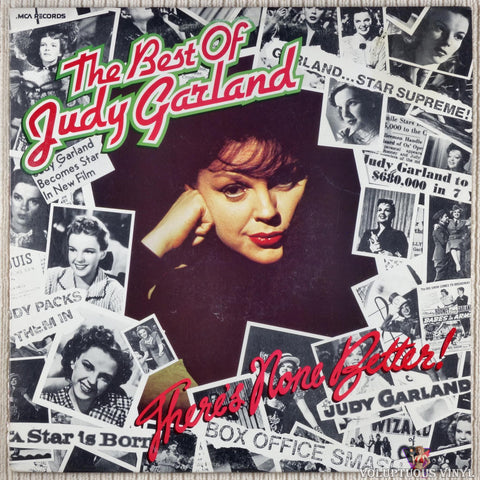 Judy Garland ‎– The Best Of Judy Garland... There's None Better! (1980) Australian Press