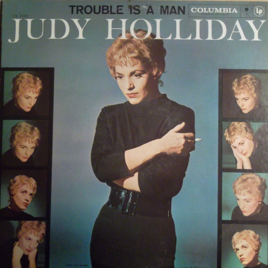 Judy Holliday ‎– Trouble Is A Man - Vinyl Record - Front Cover