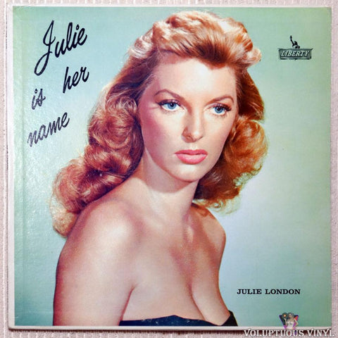 Julie London ‎– Julie Is Her Name vinyl record front cover