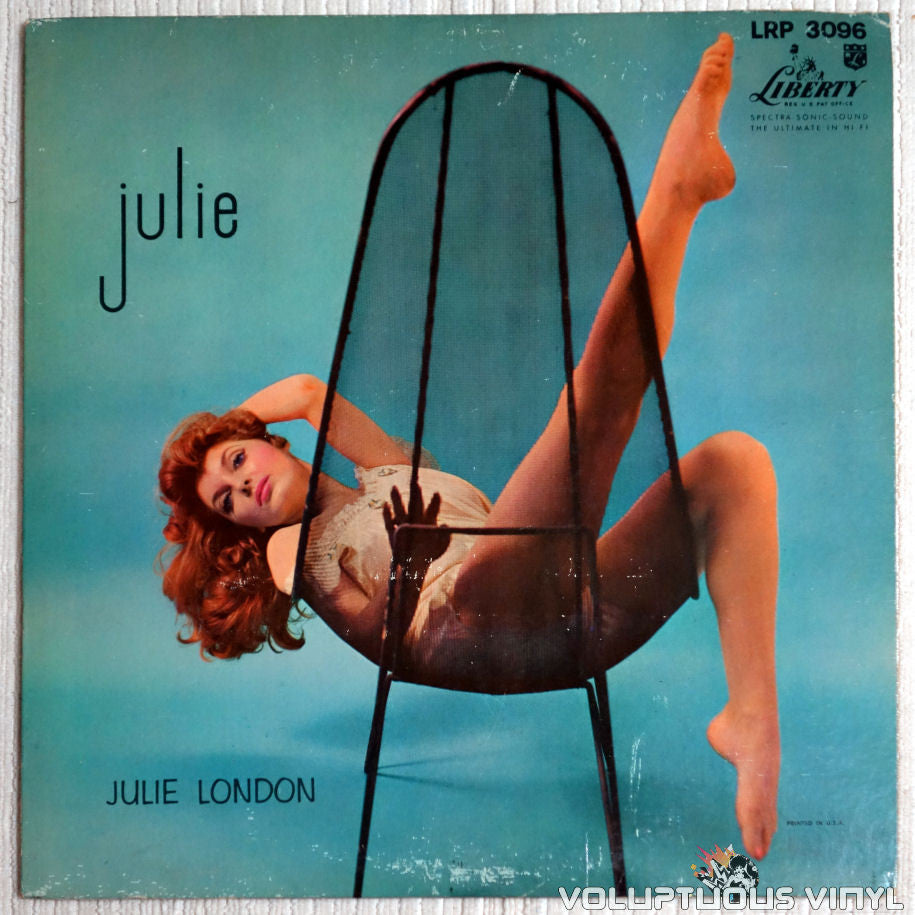 Julie London ‎– Julie - Vinyl Record - Front Cover