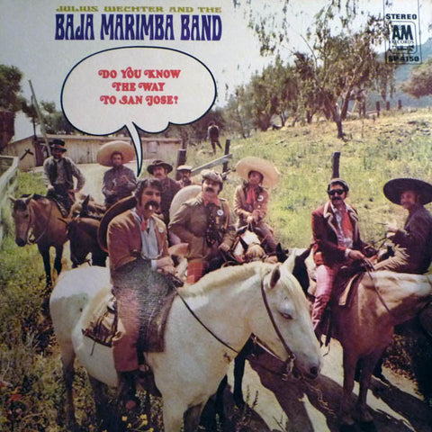 Julius Wechter & The Baja Marimba Band ‎– Do You Know The Way To San Jose? (1968) Cheap Vinyl Record