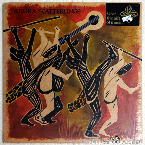 Juluka ‎– Scatterlings - Vinyl Record - Front Cover