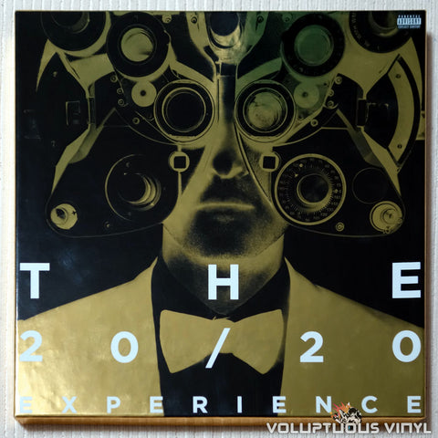 Justin Timberlake ‎– The Complete 20/20 Experience (2013) 4xLP Box Set SEALED
