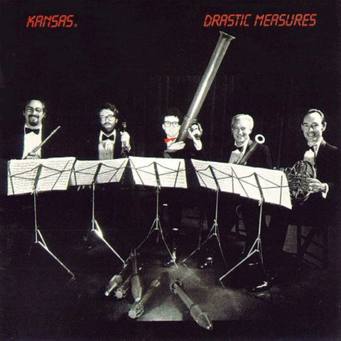 Kansas ‎– Drastic Measures (1983)