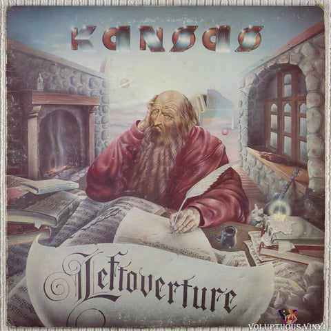 Kansas ‎– Leftoverture vinyl record front cover