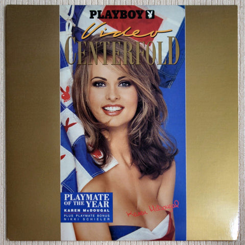 LaserDisc - Karen McDougal Video Centerfold