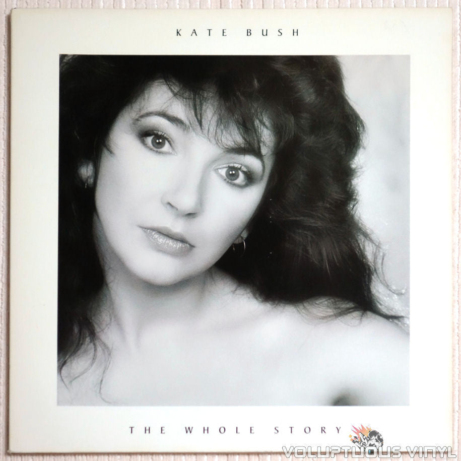 Kate Bush ‎– The Whole Story - Vinyl Record - Front Cover