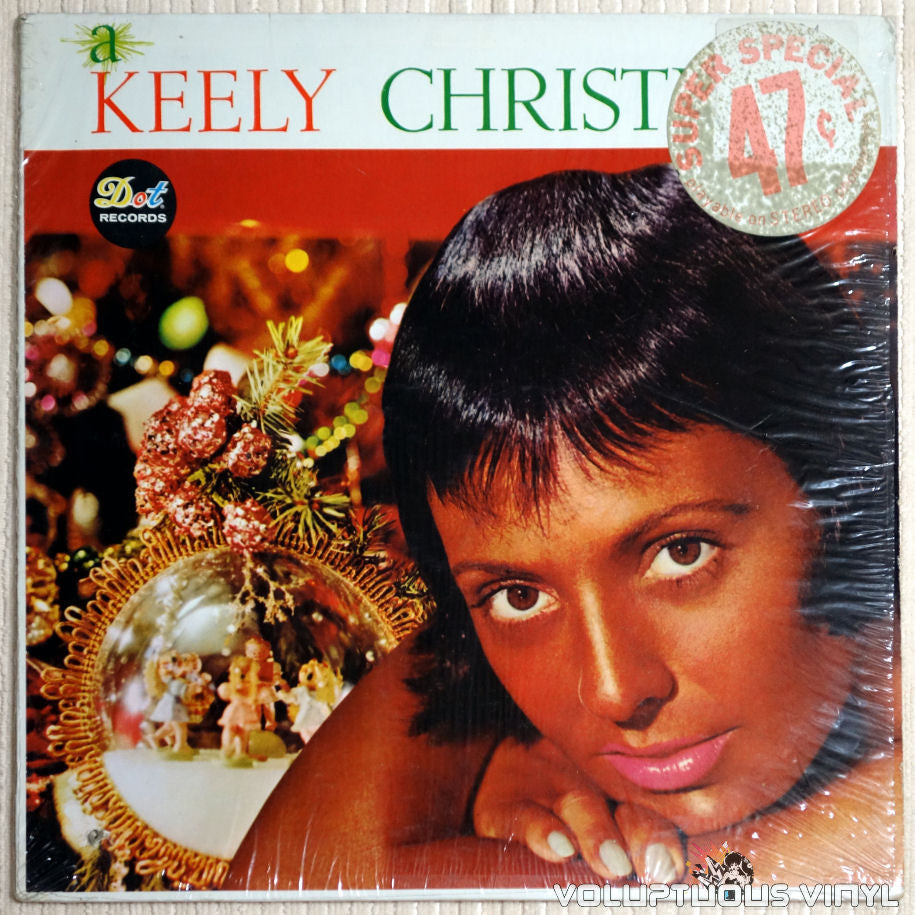 Keely Smith ‎– A Keely Christmas - Vinyl Record - Front Cover