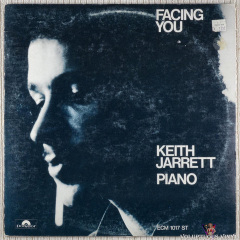 Keith Jarrett ‎– Facing You vinyl record front cover