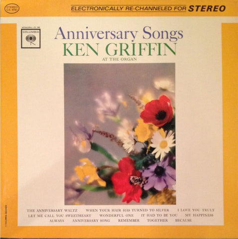 Ken Griffin ‎– Anniversary Songs Cheap Vinyl Record