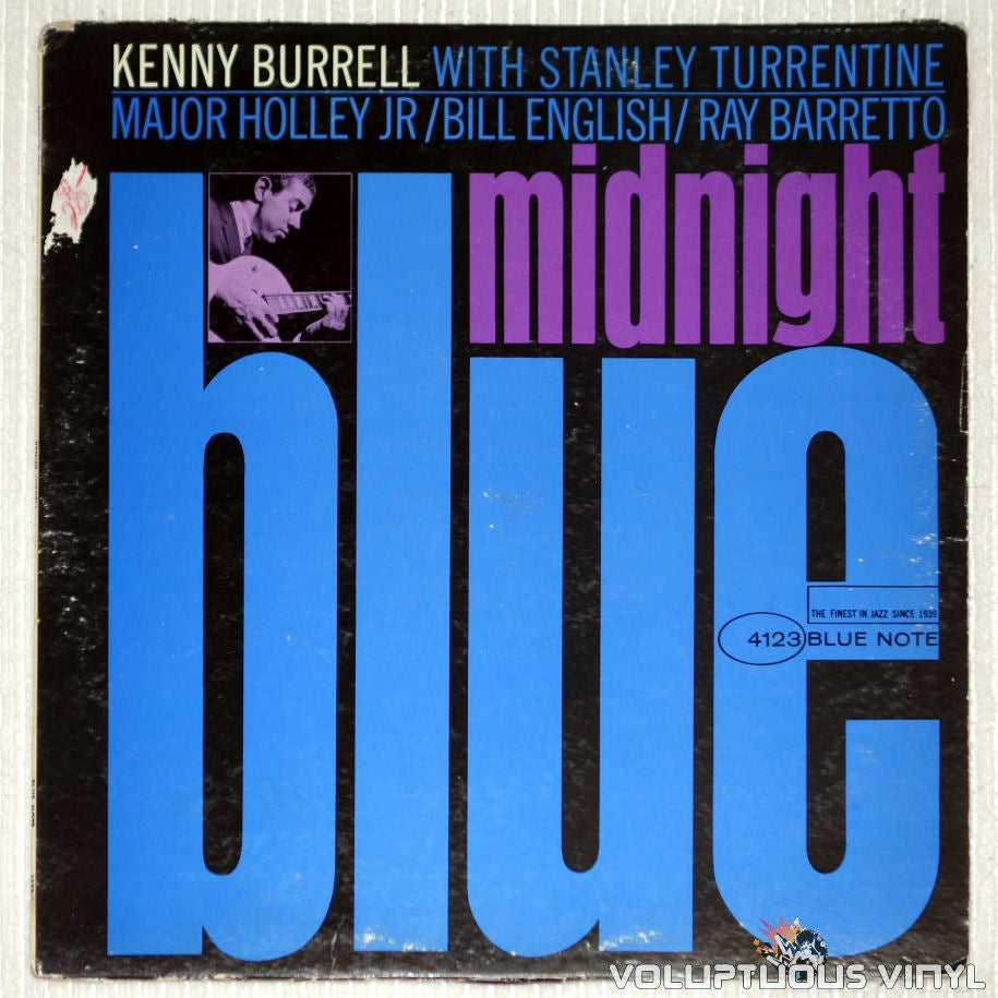 Kenny Burrell ‎– Midnight Blue - Vinyl Record - Front Cover