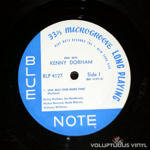 Kenny Dorham ‎– Una Mas - Vinyl Record - Blue Note Label