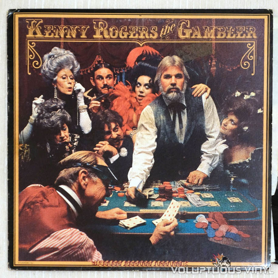 Kenny Rogers ‎- The Gambler (1978) Vinyl Original Pressing ...