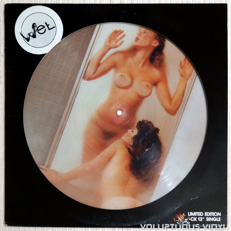Kevin Wet ‎– Wet - Vinyl Record - Front Cover Nude Picture Disc