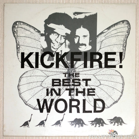 Kickfire! ‎– The Best In The World - Vinyl Record - Front Cover