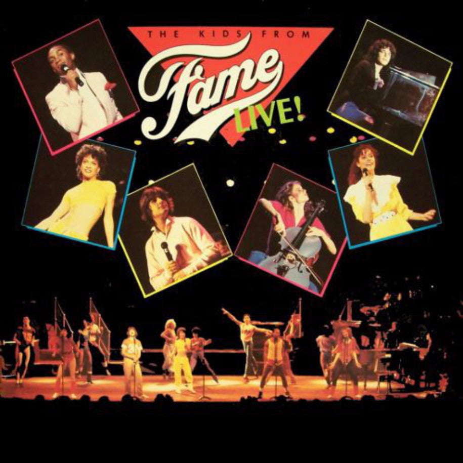 The Kids From Fame ‎– Live! - Vinyl Record - Front Cover