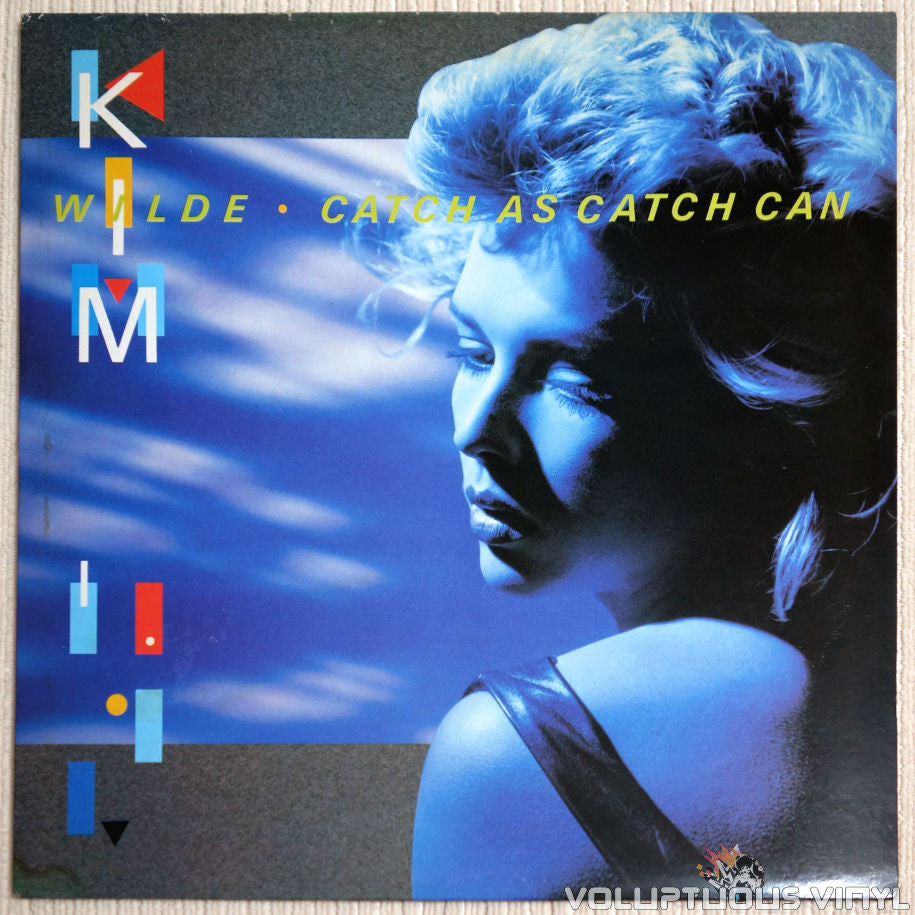 Kim Wilde ‎– Catch As Catch Can - Vinyl Record - Front Cover
