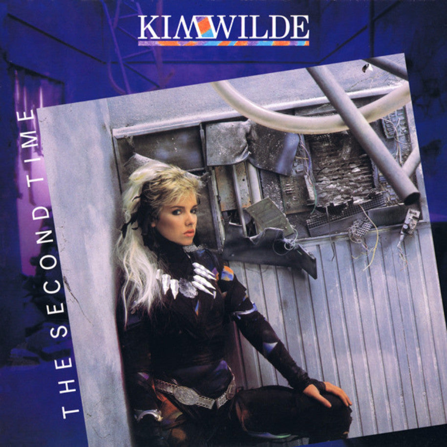 Kim Wilde ‎– The Second Time - Vinyl Record - Front Cover