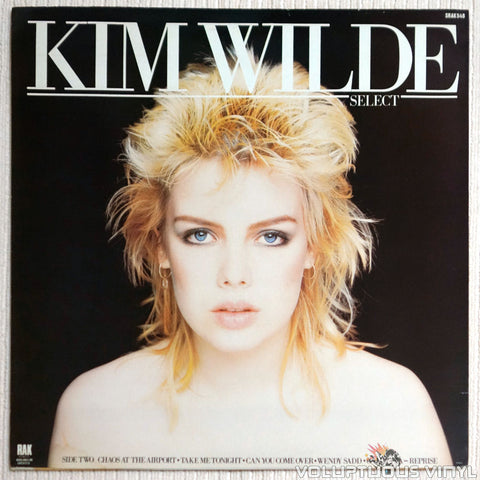 Kim Wilde ‎– Select - Vinyl Record - Back Cover