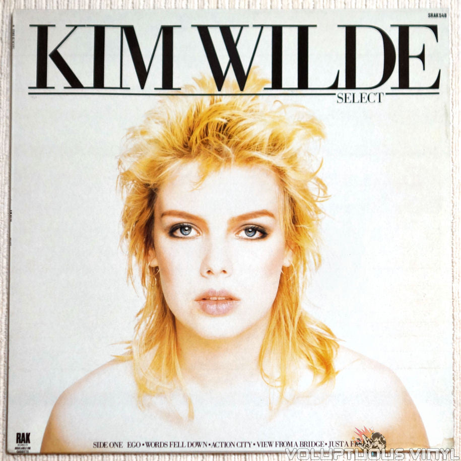 Kim Wilde ‎– Select - Vinyl Record - Front Cover
