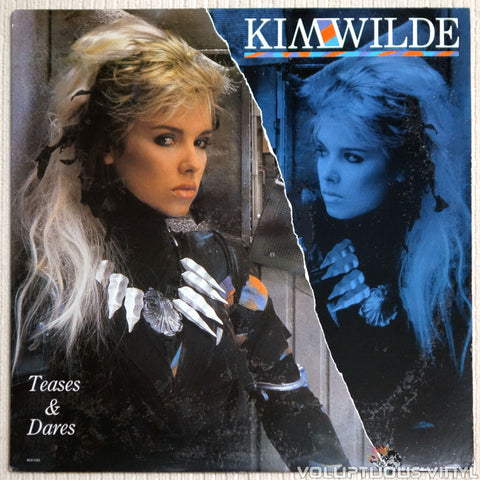 Kim Wilde ‎– Teases & Dares - Vinyl Record - Front Cover