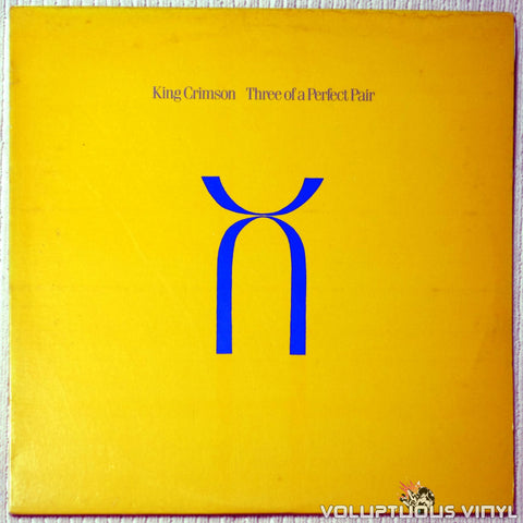 King Crimson ‎– Three Of A Perfect Pair - Vinyl Record - Front Cover