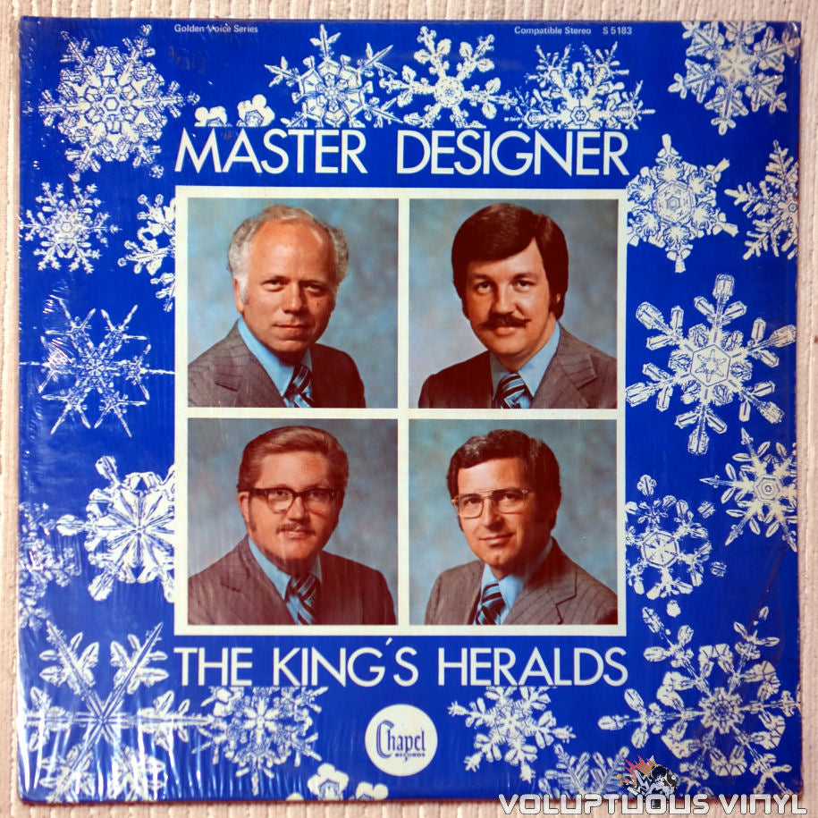 The King's Heralds ‎– Master Designer vinyl record front cover