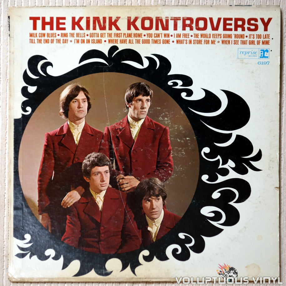The Kinks ‎– The Kink Kontroversy - Vinyl Record - Front Cover