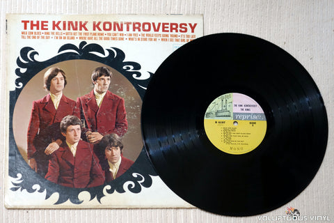 The Kinks ‎– The Kink Kontroversy - Vinyl Record