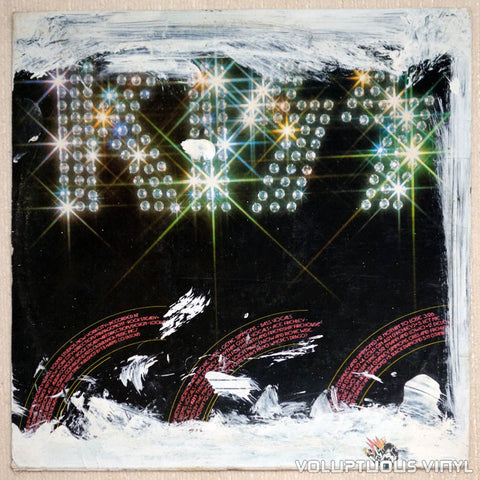 Kiss ‎– Kiss - Vinyl Record LP - Back Cover