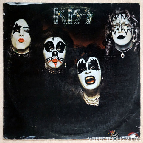 Kiss ‎– Kiss - Vinyl Record LP - Front Cover
