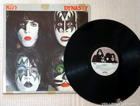 Kiss ‎– Dynasty - Vinyl Record