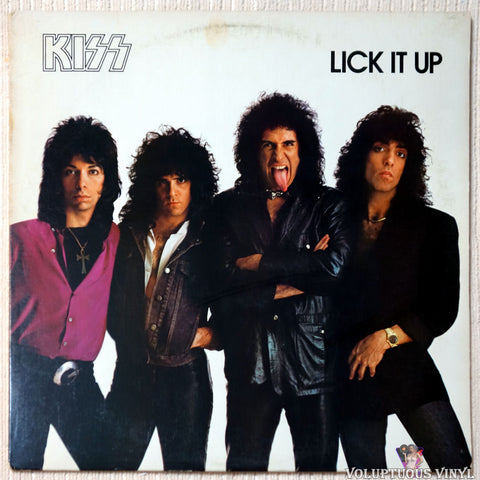 Kiss ‎– Lick It Up (1983)