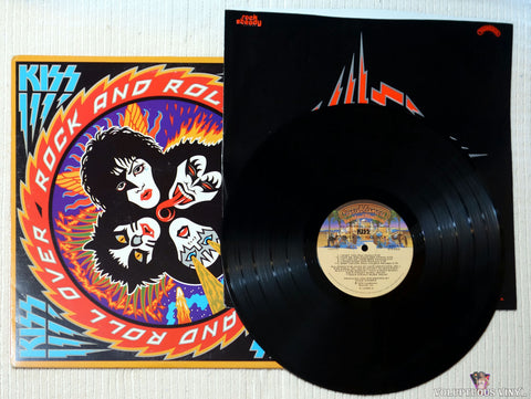 Kiss ‎– Rock And Roll Over vinyl record