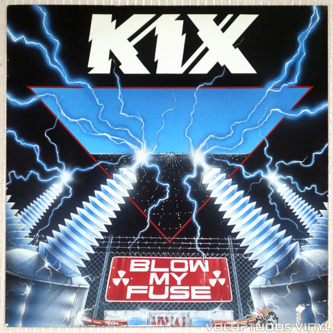 Kix ‎– Blow My Fuse - Vinyl Record - Front Cover
