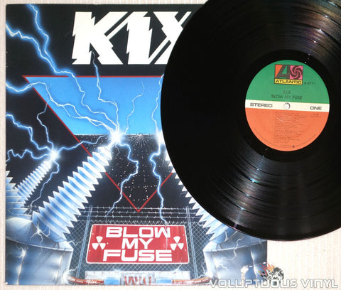 Kix ‎– Blow My Fuse - Vinyl Record