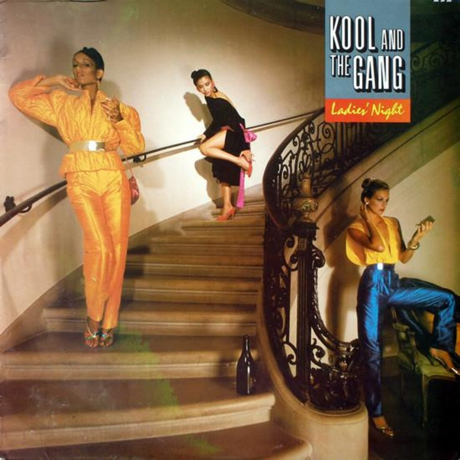 Kool And The Gang ‎– Ladies' Night - Vinyl Record - Front Cover