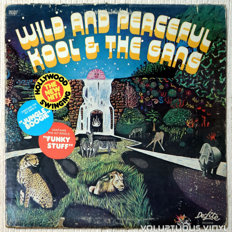 Kool & The Gang ‎– Wild And Peaceful vinyl record front cover
