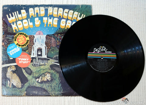 Kool & The Gang ‎– Wild And Peaceful vinyl record
