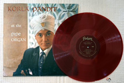 Korla Pandit ‎– At The Pipe Organ - Vinyl Record