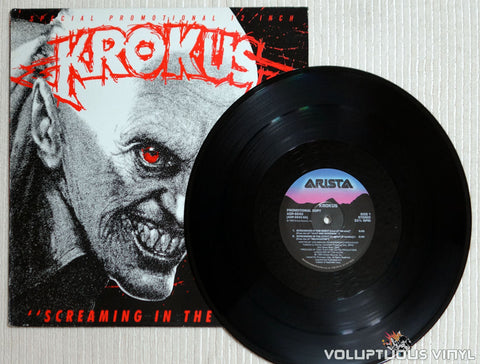 Krokus ‎– Screaming In The Night - Vinyl Record