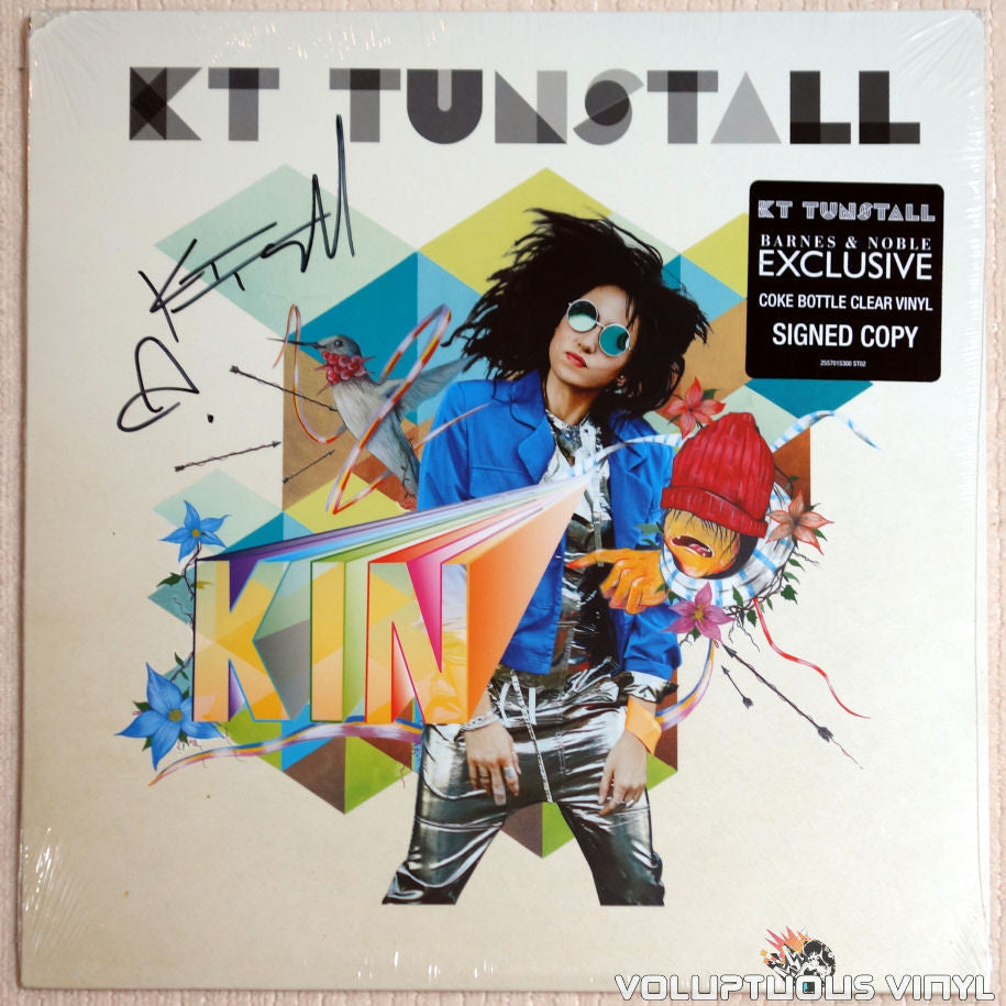 KT Tunstall ‎– KIN - Vinyl Record - Front Cover