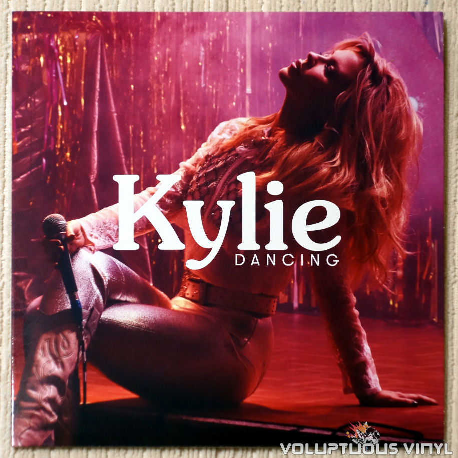 Kylie Minogue ‎– Dancing - Vinyl Record - Front Cover