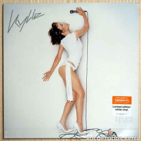Kylie Minogue ‎– Fever (2017) UK Press, Limited Edition, White Vinyl SEALED
