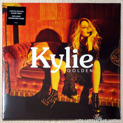 Kylie Minogue ‎– Golden (2018) SEALED Ltd Clear Vinyl, UK Press